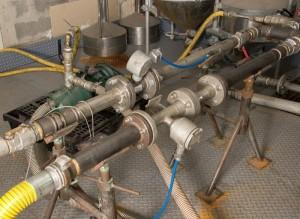 calibration rigs to measure flowmeters (mass, vortex, electromagnetic), volumetric meters and turbines