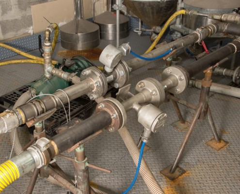calibration rigs to measure flowmeters (mass, vortex, electromagnetic), volumetric meters and turbines