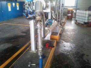 Étalonnage de débitmètres de chargement camion chimique